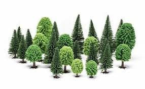 HORNBY HOBBY TREES MIXED DECIDUOUS/FIR