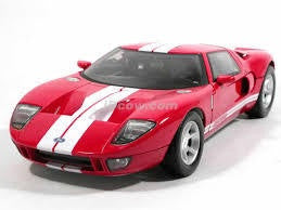 MOTOR MAX 1/12 DIECAST FORD GT CONCEPT CAR