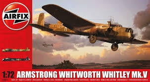 AIRFIX 1/72 ARMSTRONG WHITWORTH WHITLEY MK5