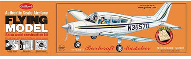 GUILLOWS 1/18 BEECHCRAFT MUSKETEER