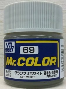 GUNZE MR COLOR C69 GLOSS OFF WHITE