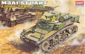 ACADEMY 1/35 M3A1 STUART LIGHT TANK
