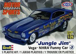REVELL 1/25 JUNGLE JIM NHRA FUNNY CAR