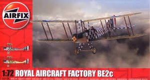 AIRFIX 1/72 ROYAL AIRCRAFT FACTORY BE2C