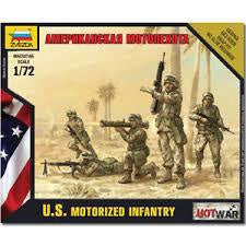 ZVEZDA 1/72 US MECHANIZED INFANTRY