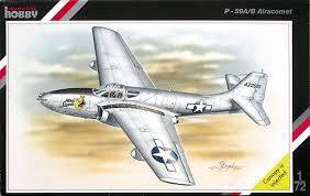 SPECIAL HOBBY 1/72 P-59A/B AIRACOMET