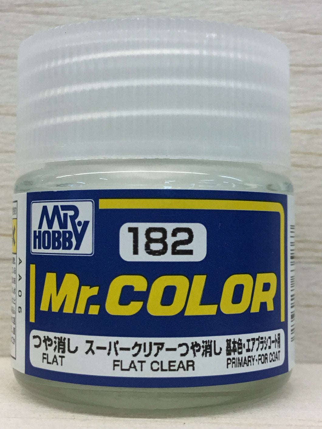 GUNZE MR COLOR C182 FLAT CLEAR