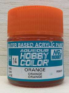 GUNZE HOBBY COLOR H14 GLOSS ORANGE