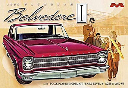 MOEBIUS 1/25 PLYMOUTH BELVEDERE