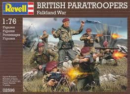 REVELL 1/72 BRITISH PARATROOPS
