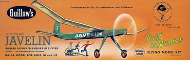 GUILLOWS BALSA BBN JAVELIN