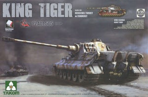 TAKOM 1/35 KING TIGER PZ ABT.505