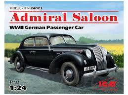 ICM 1/24 ADMIRAL SALOON GERMAN PASSENGER CAR
