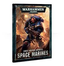 WARHAMMER CODEX ADEPTUS ASTARTES RULE BOOK
