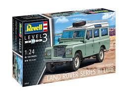 REVELL 1/24 LAND ROVER SERIES III LONG WHEEL BASE