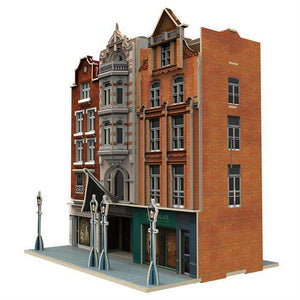 3D PUZZLE AUCTION HOUSE AND STORES