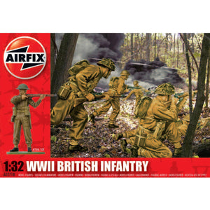 AIRFIX 1/32 BRITISH INFANTRY WW2