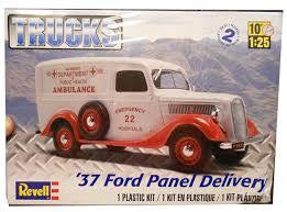 REVELL 1/25 '37 FORD PANEL DELIVERY VAN