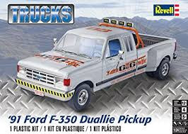 REVELL 1/24 '91 FORD F-350 DUALLIE PICKUP