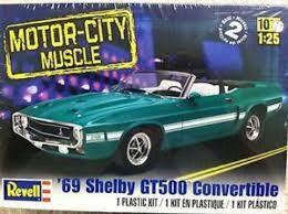 REVELL '69 FORD SHELBY GT500 CONVERTABLE