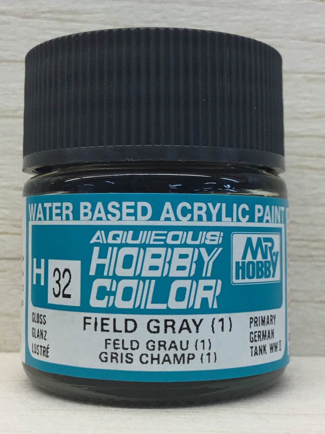 GUNZE MR HOBBY COLOR H32 GLOSS FIELD GRAY 1