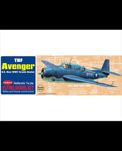 GUILLOWS BALSA TBF AVENGER
