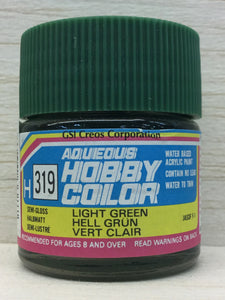 GUNZE MR HOBBY COLOR H319 SEMI GLOSS LIGHT GREEN