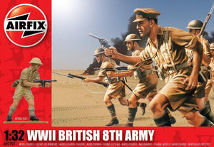AIRFIX 1/32 BRITISH 8TH ARMY