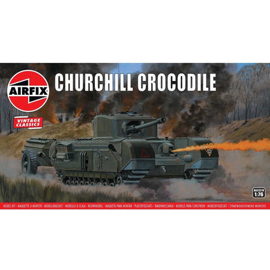 AIRFIX 1/76 CHURCHILL CROCODILE