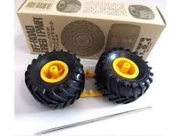 TAMIYA OFF ROAD TYRES & AXLE