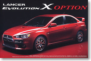 AOSHIMA 1/24 MITSUBISHI LANCER EVOLUTION X (10) Option