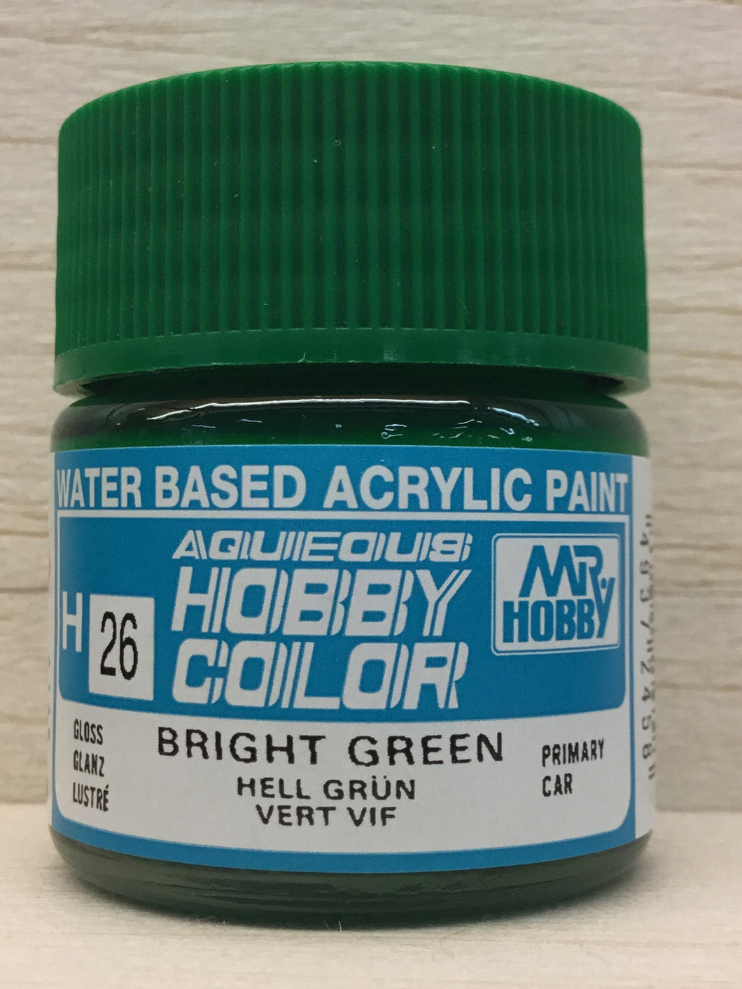 GUNZE MR HOBBY COLOR H26 BRIGHT GREEN
