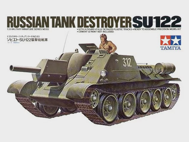 TAMIYA 1/35 SU-112 RUSSIAN TANK DESTROYER