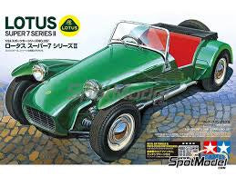 TAMIYA 1/24 LOTUS SUPER 7 SERIES II