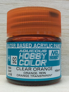 GUNZE MR HOBBY COLOR H92 GLOSS CLEAR ORANGE
