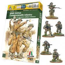 ITALERI 1/56 WW2 BRITISH COMMONWEALTH INFANTRY