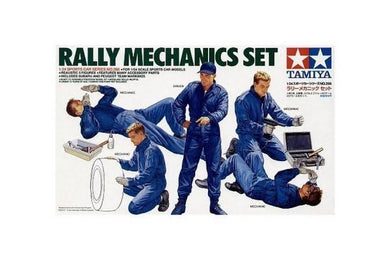 TAMIYA 1/24 RALLY MECHANICS SET