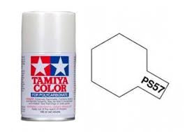 TAMIYA PS-57 POLYCARB SPRAY PEARL WHITE