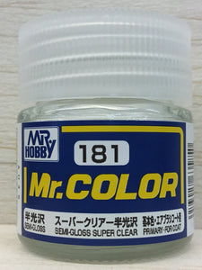GUNZE MR COLOR C181 SEMI GLOSS CLEAR