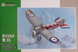 SPECIAL HOBBY 1/32 BRISTOL M.1C CHECKERS & STRIPES
