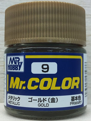 GUNZE MR COLOR C9 METALLIC GOLD