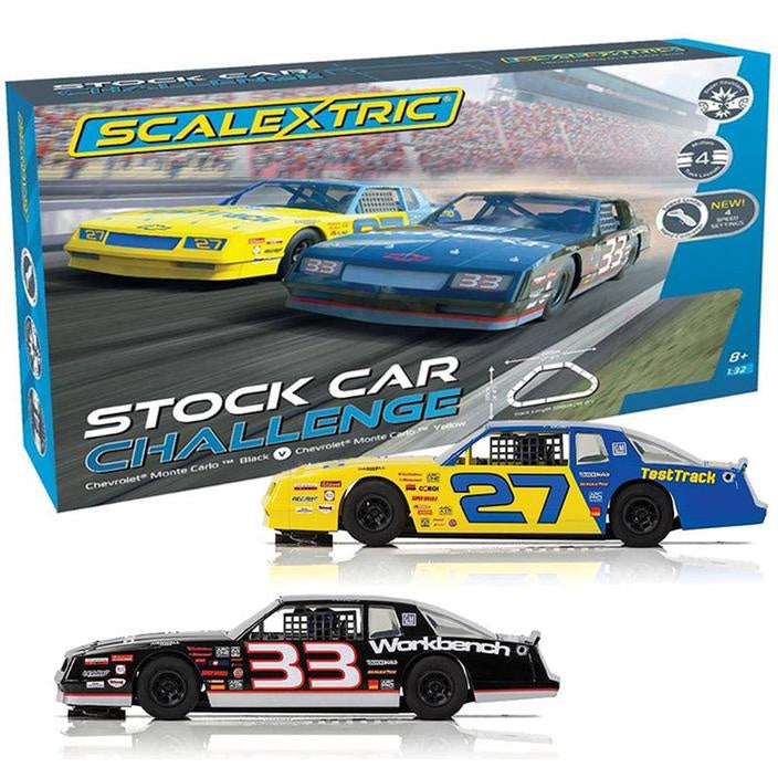 SCALEXTRIC SET STOCK CAR CHALLENGE