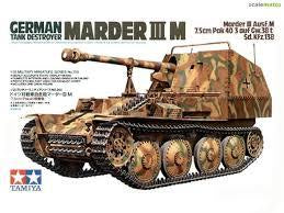 TAMIYA 1/35 GERMAN MARDER 3M TANK DESTROYER