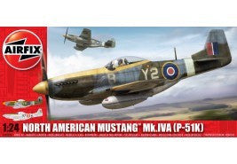 AIRFIX 1/24 NORTH AMERICAN P51K MUSTANG