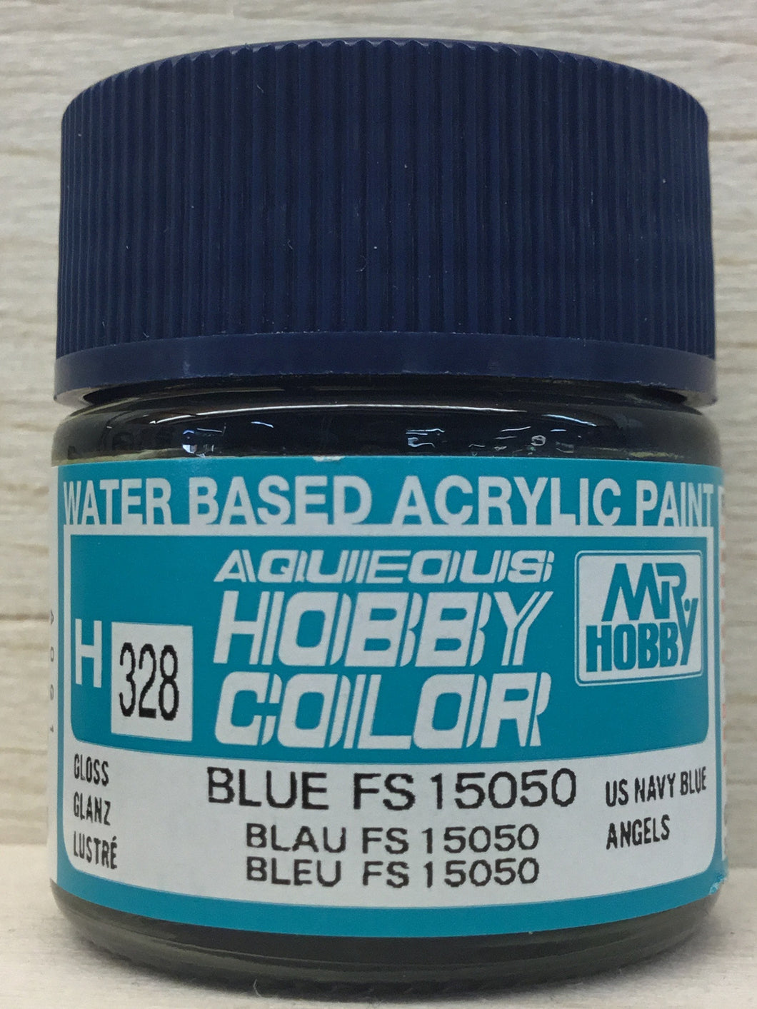 GUNZE MR HOBBY COLOR H328 GLOSS BLUE FS15050
