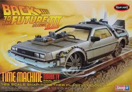 POLAR LIGHTS 1/25 BACK TO THE FUTURE III CAR