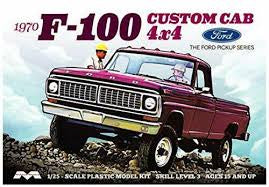 MOEBIUS 1230 1/25 FORD 1970 F-100 CUSTOM CAB