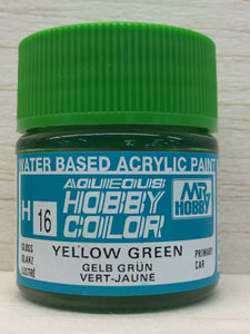 GUNZE MR HOBBY COLOR H16 GLOSS YELLOW GREEN