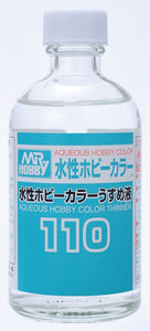 GUNZE MR HOBBY 110 ACRYLIC THINNER