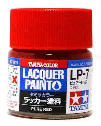 TAMIYA LACQUER LP-7 PURE RED